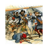 Scrapbook of the British Sailor: Privateers and Pirates Giclee Print by Eric Parker