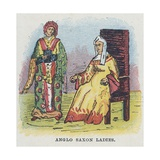Anglo Saxon Ladies, Women, Females Giclee Print by  English School