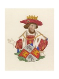 King John of Portugal Giclee Print by Henry Shaw