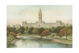 The New University - Glasgow Giclee Print by  English School