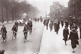 City Workers Walk to Office, May 1926 Photographic Print by  English Photographer