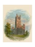 Ely Cathedral, West Tower Giclee Print by Arthur Wilde Parsons