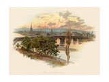 Perth, from Bridge End Giclee Print by Charles Wilkinson