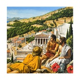 Ancient Greece Giclee Print by Roger Payne