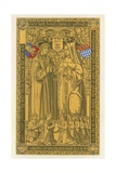 From a Brass, in the Church of St Mary Key Ipswich, 1525 Giclee Print by Henry Shaw