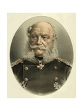 William I, Emperor of Germany Giclee Print by  English School
