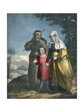 Jesus Returning with His Parents to Nazareth Giclee Print by Siegfried Detler Bendixen