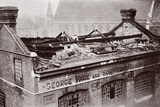 The Result of a Bombing Raid on London, 1915 Photographic Print by  English Photographer