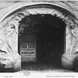 Loie Fuller Theatre at the Universal Exhibition, 1900 Photographic Print by Henri Sauvage