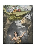 Joseph Cast into the Pit by His Brethren Giclee Print by Siegfried Detler Bendixen