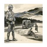 Boer War Giclee Print by  English School
