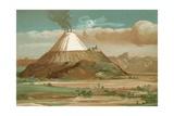 Alexander Von Humboldt in Cotopaxi Giclee Print by  Spanish School