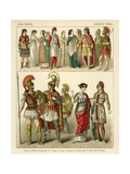 Asia Minor Costume Giclee Print by Albert Kretschmer