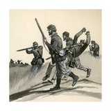The Union's Infantrymen During the American Civil War Giclee Print by  English School