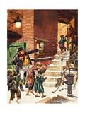 Working Children of Victorian Britain Giclee Print by Peter Jackson