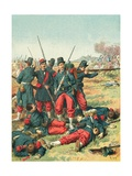 Sergeant Blandan Giclee Print by Frederic Theodore Lix