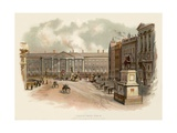 College Green, Dublin Giclee Print by Charles Wilkinson