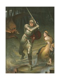 St George Giclee Print by Charles Edward Halle