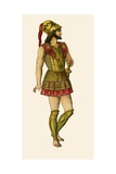 Greek Warrior Giclee Print by Albert Kretschmer