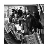 Crippen: Radio's First Arrest Giclee Print by Neville Dear