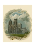 York Minster, West Front Giclee Print by Arthur Wilde Parsons