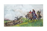 King Offa Giclee Print by Peter Jackson
