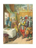 Arrest of Broussel Giclee Print by Frederic Theodore Lix