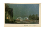 Starlight and Hyde Park Corner, from 'The New Lights O' London', Published 1926 Giclee Print by Donald Maxwell