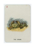 The Crabs Giclee Print by John Tenniel