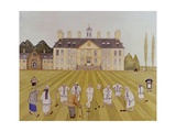 Croquet on the Lawn, 1989 Giclee Print by Gillian Lawson