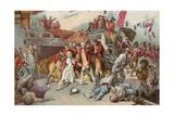 Nelson's Last Battle Giclee Print by Ernest Slingeneyer