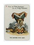 The Duchess with Baby Giclee Print by John Tenniel