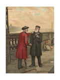 Pensioners Giclee Print by George Fox