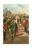 The Imperial Bodyguard: Types of the Soldiers of the Empire Giclee Print by Amato Gennaro