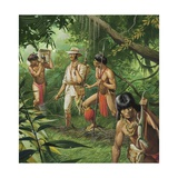 Henry Bates, Explorer of the Amazon Basin Giclee Print by Severino Baraldi