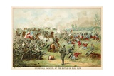 Stonewall Jackson, at the Battle of Bull Run Giclee Print by  North American