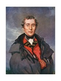 Arthur Wellesley, Duke of Wellington Giclee Print by Joseph Simpson