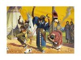 Sioux Ghost Dance Giclee Print by Severino Baraldi