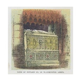 Tomb of King Edward III in Westminster Abbey Giclee Print by  English School