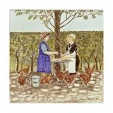 Coq Au Vin, 1989 Giclee Print by Gillian Lawson
