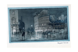 Regent Circus, from 'The New Lights O' London', Published 1926 Giclee Print by Donald Maxwell