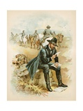 Grant on the Field, Last Year of the War Giclee Print by  North American