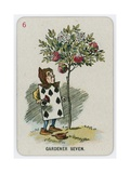 Gardener Seven Giclee Print by John Tenniel