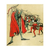 Pied Piper of Hamelin Giclee Print by Cecil Charles Windsor Aldin