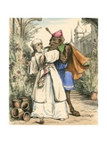 The Merchant Plucking the Rose for Beauty Giclee Print by John Callcott Horsley