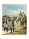 The Surrender at York Town Giclee Print by  English School