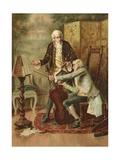 Discord Giclee Print by John Arthur Lomax