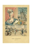 Marie Antoinette Giclee Print by  French School