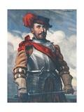 Sir Francis Drake Giclee Print by Joseph Simpson