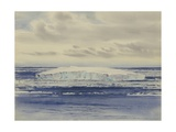 Iceberg in the Pack Ice, Ross Sea, 10am, Dec 21, 1910 Giclee Print by Edward Adrian Wilson